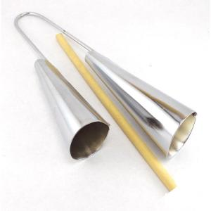 Metal Agogo Bells - Made in Brazil - ZumZum Capoeira Shop