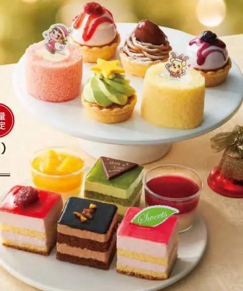 ファミマのクリスマスケーキ2021予約期間はいつからいつまで?特典や内容も16