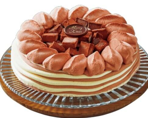 ローソンクリスマスケーキの予約はいつからいつまで?当日も買える?予約方法や種類、口コミも24