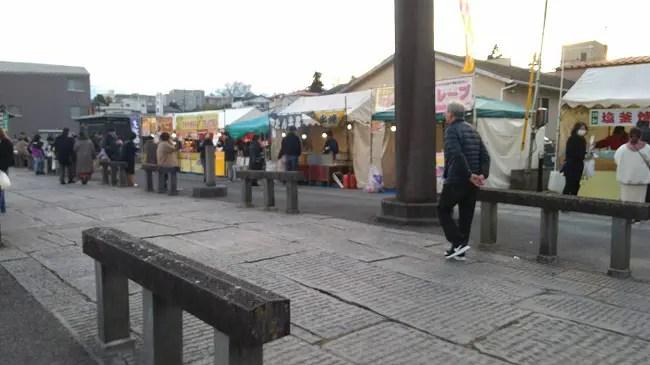 塩竃神社 初詣