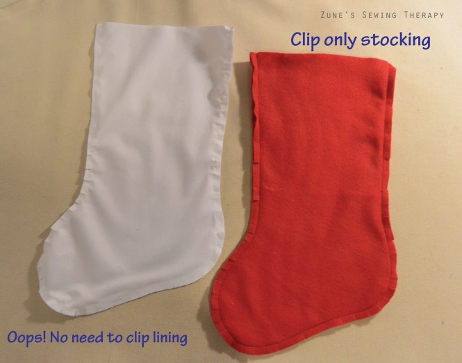 Christmas Stocking Tutorial With Free Pattern Zunes Sewing Therapy