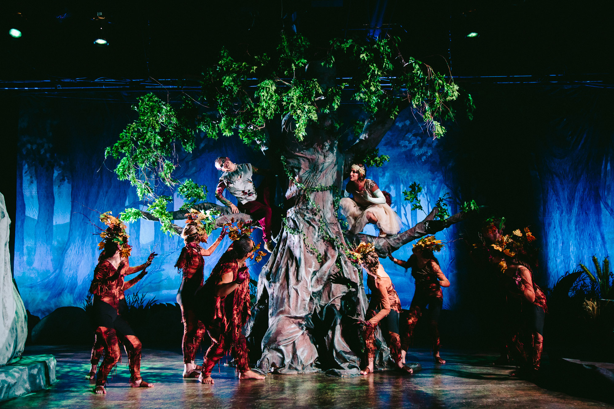 A Midsummer Night S Dream Opens In Warehouse Theater