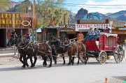 Camping with Ghosts in Oatman, Arizona