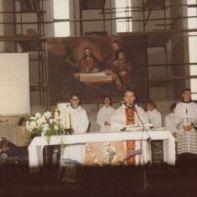 Misa u nedovršenoj crkvi