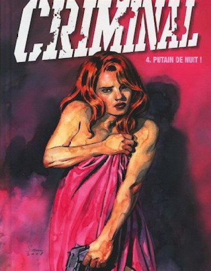 Criminal - 3 tome 4 à 6