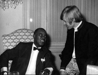 1967, avec Louis Amstrong