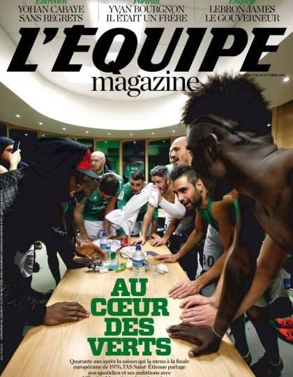 L Equipe Magazine N° 1736 du samedi 24 octobre 2015