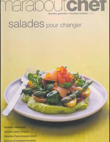 CUISINE - Salades Pâtes Poisson Quiches - 19 Livres