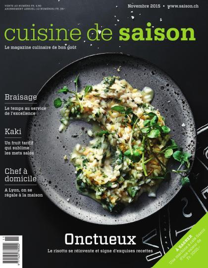 Cuisine de saison - novembre 2015