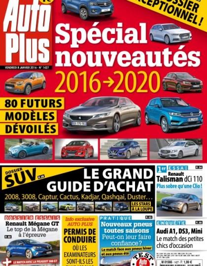Auto Plus N°1427 - 8 au 14 Janvier 2016