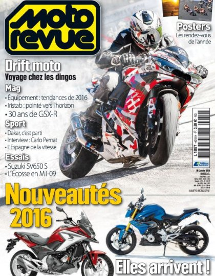 Moto Revue N°4019 - 6 au 19 Janvier 2016