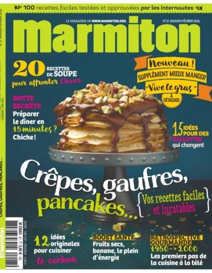 Marmiton N°27 - Janvier-Février 2016