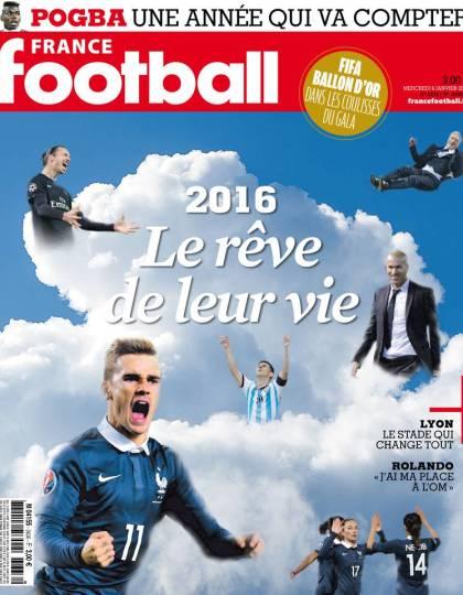 France Football No.3636 - 6 Janvier 2016