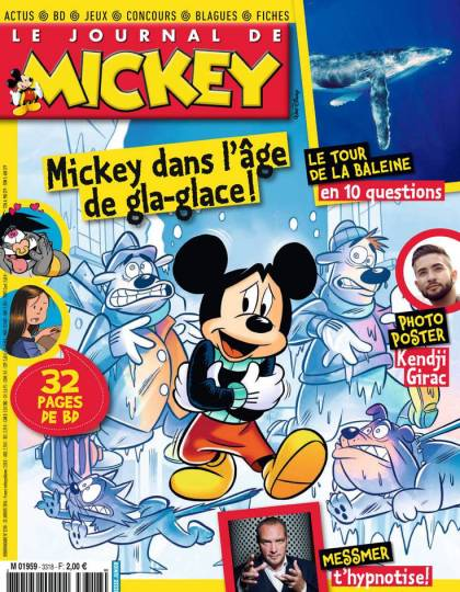 Le Journal de Mickey - N°3318 - 20 au 26 Janvier 2016