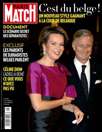 Paris Match belgique - 28 Janvier au 3 Février 2016