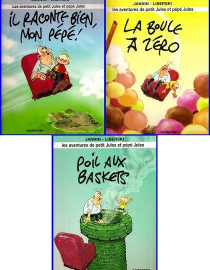 Les Aventures de Petit Jules et Pépé Jules