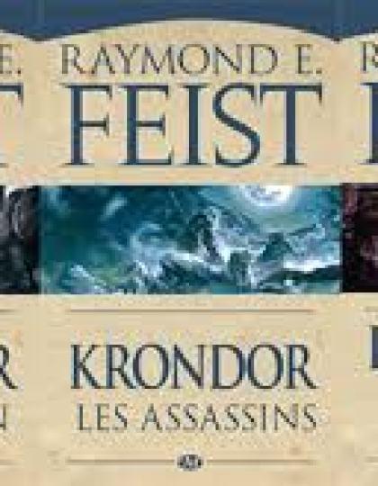 Intégrale des Chroniques de Krondor de Raymond E Feist 27 tomes