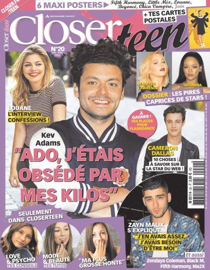 Closer Teen N°20 - Mars 2016