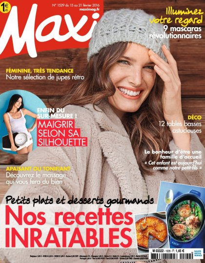 Maxi N°1529 - 15 au 21 Février 2016