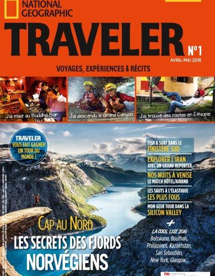 National Geographic Traveler N°1 - Avril/Mai 2016