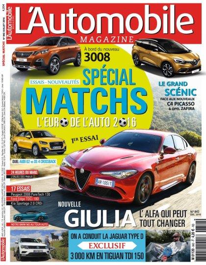 L'Automobile Magazine N°842 - Juillet 2016