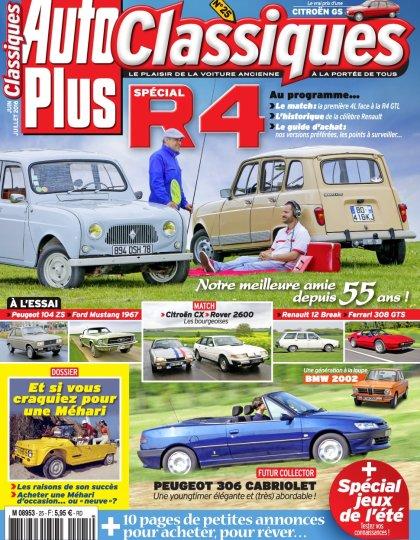 Auto Plus Classiques N°25 - Juin/Juillet 2016