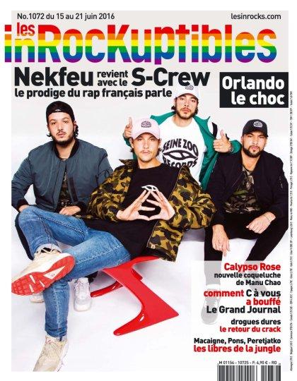 Les Inrockuptibles N°1072 du 15 au 21 Juin 2016