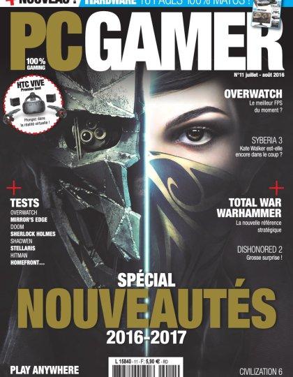 PC Gamer N°11 - Juillet/Aout 2016