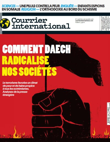 Courrier International N°1338 - 23 au 29 juin 2016