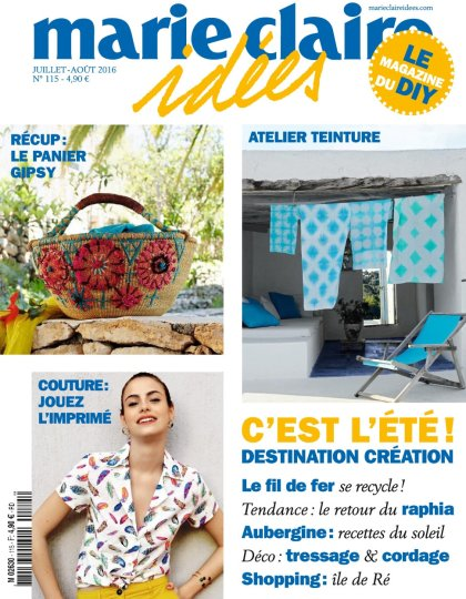 Marie Claire Idées N°115 - Juillet/Aout 2016