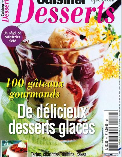 Cuisiner Special Desserts No.11 - 100 Gateaux Gourmands