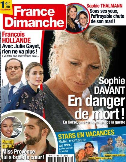 France Dimanche N°3650 - 12 au 18 Août 2016