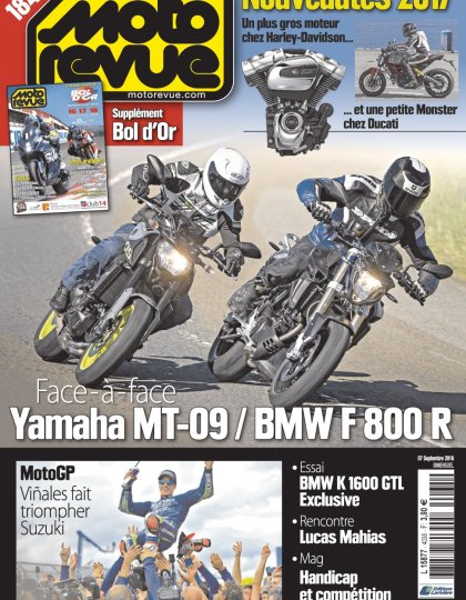 Moto Revue N°4035 - 7 Septembre 2016