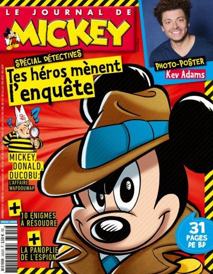 Le Journal de Mickey N°3355 - 05 Octobre 2016
