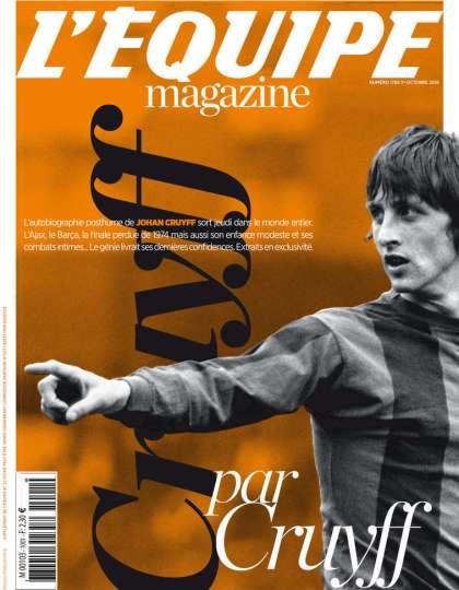 L'Equipe Magazine N°1785 - 30 Septembre 2016