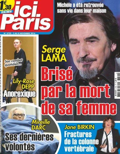Ici Paris N°3722 - 02 au 08 Novembre 2016
