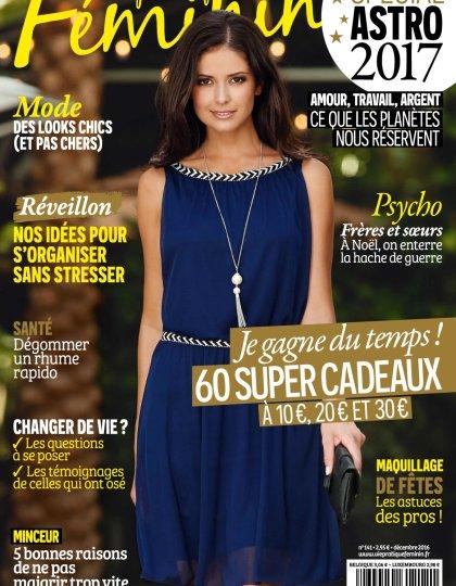 Vie Pratique Féminin N°141 - Décembre 2016