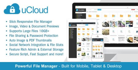 CodeCanyon - uCloud v1.4.1 - File Hosting Script - Securely Manage, Preview & Share Your Files
