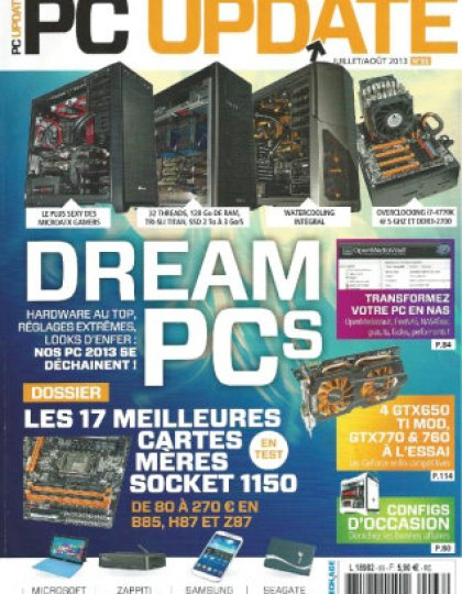 PC Update N° 66 du Juillet Aout 2013