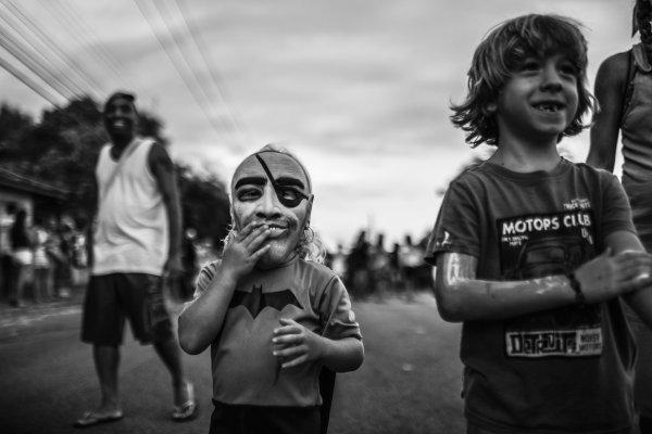 Foto de Bruno Covello, do Carnaval de rua do Onodi, que ficou em 1º lugar no júri oficial em 2014