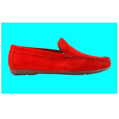 zapato ante rojo
