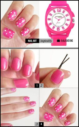 nail art designs step by step