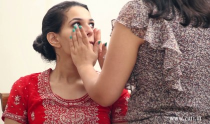 Indian bridal makeup 35