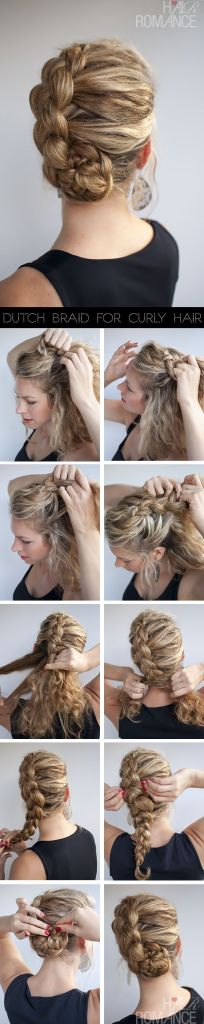Hairstyles for curly hair 01