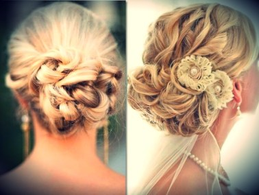 Indian bridal hairstyles updo's 14