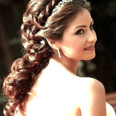 Indian bridal hairstyles updo's 25