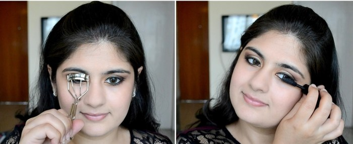 How to apply makeup - Chic bronze and purple eye makeup 16