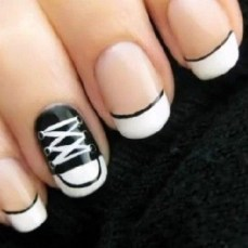 Simple nail art designs 36