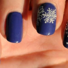 Simple nail art designs 45