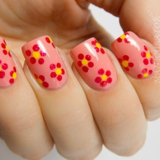 Simple nail art designs 48